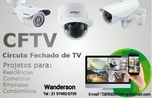 Instalador cameras de segurança cftv