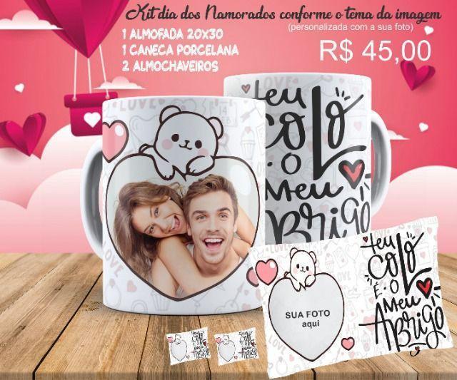Kits personalizados dia dos namorados
