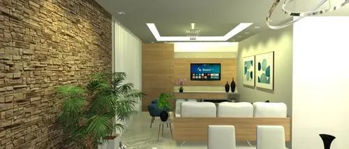 Projeto online de decor e design de interiores personalizado