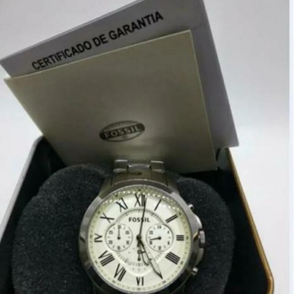 Relógio fossil cronógrafo