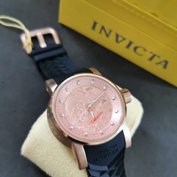 Relógio invicta yakuza s1 18181 automatico cobre rally men