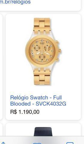 Relógios swatch usados e originais