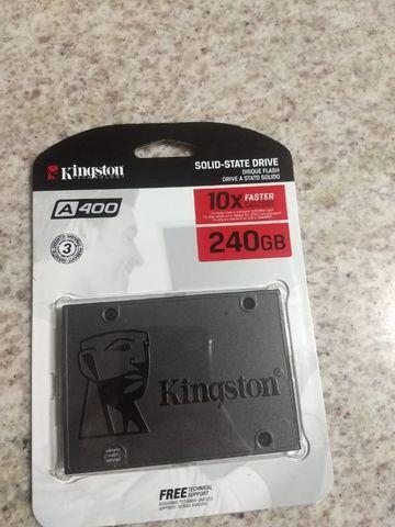 Ssd kingston a400 240gb novo fechado
