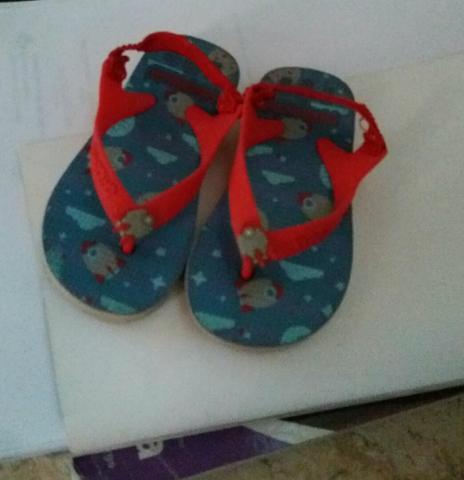 Sandália infantil pimpolho n 21