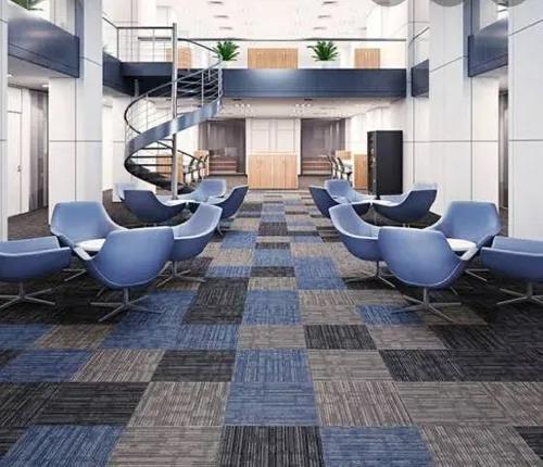 Serviços de instalação de carpete piso ou parede