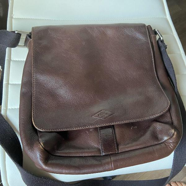 Bolsa carteira masculina couro legítimo