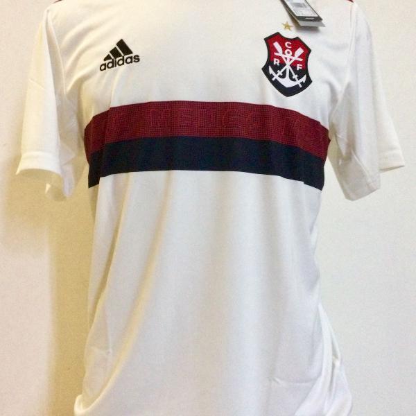 Camisa flamengo adidas 2019 / 2020 oficial branca uniforme 2