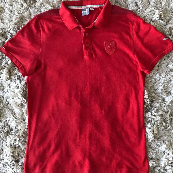Camisa polo original puma ferrari