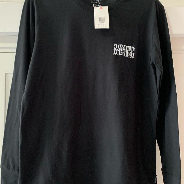 Camiseta billabong manga longa