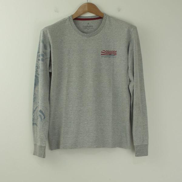 Camiseta brooksfield manga longa