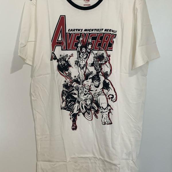 Camiseta geek vingadores - tam gg