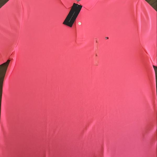 Camiseta polo masculina tommy hilfiger tam g