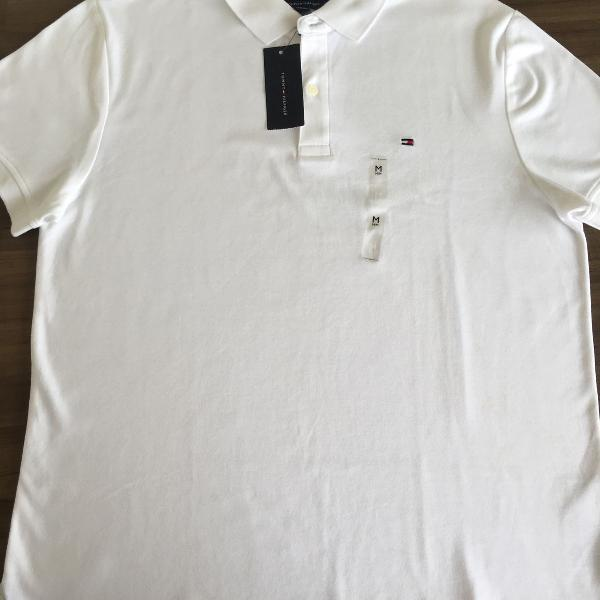 Camiseta polo masculina tommy hilfiger tam m