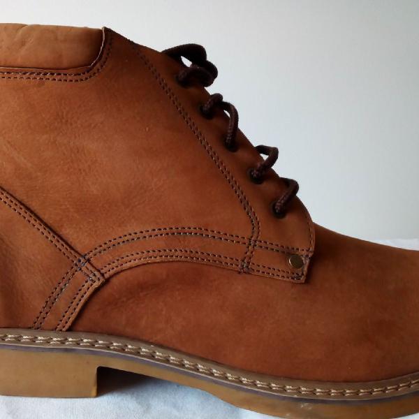 Coturno boot tamanho 48 - 100% couro - botina trecking