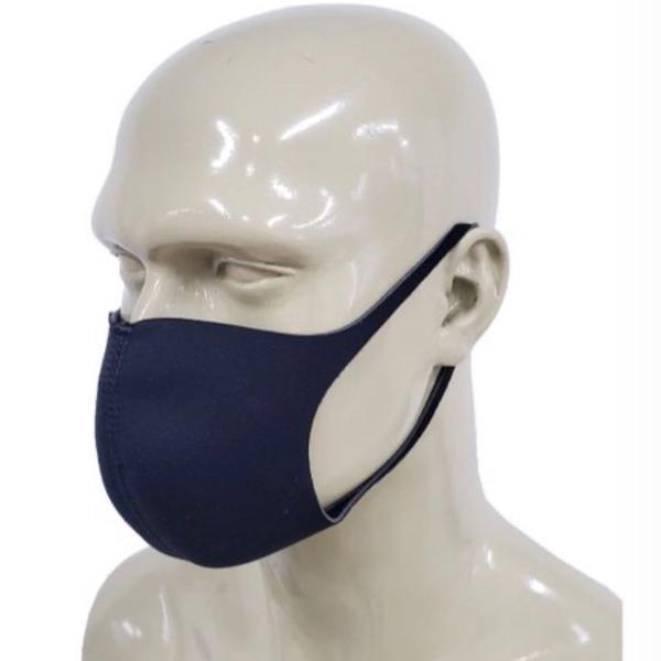 Máscara preta de neoprene