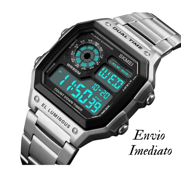 Relógio masculino digital esportivo original skmei