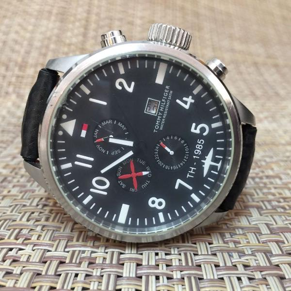 Relógio tommy hilfiger cronográfico (chronograph)