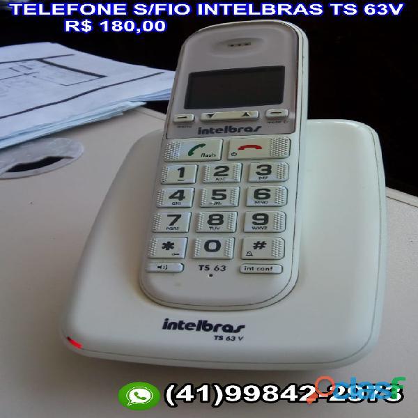 telefone intelbras ts 63v