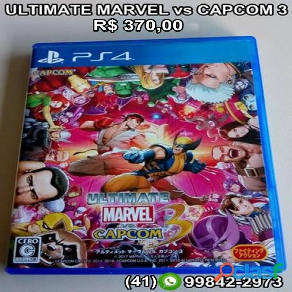 ultimate marvel vs capcom 3 ps4