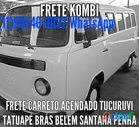 Frete Kombi carreto transporte