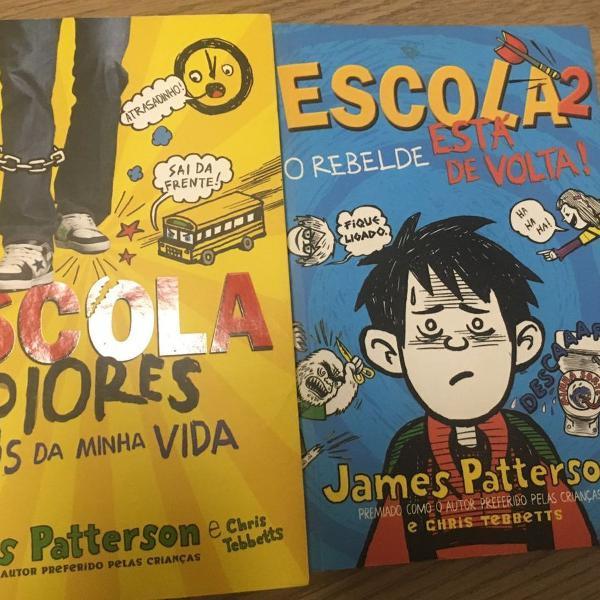 2 livros infanto juvenil