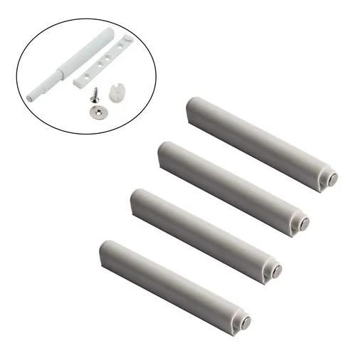 4 pulsador tip-on fecho toque magnético porta gaveta