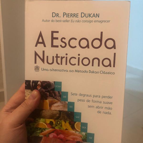 A escada nutricional livro novo - dr pierre dukan