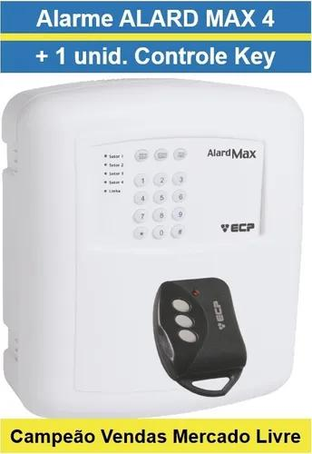 Central de alarme residencial comercial alard max 4 ecp +
