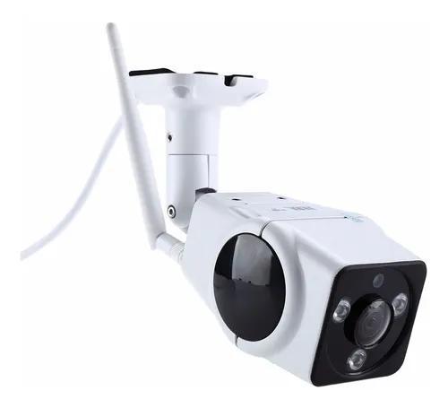Câmera ip externa visão noturna 360º wifi hd 960p app