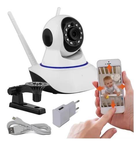 Câmera ip wifi hd segurança wirelles 360 baba eletronica