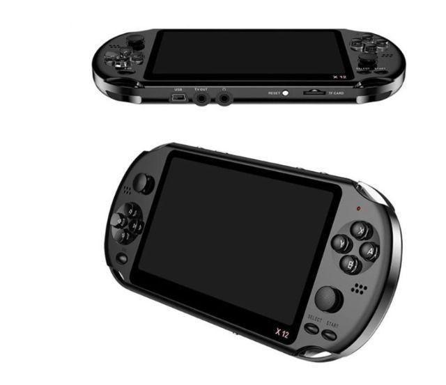 Console de jogos portátil retrô ultimate x12 (1500 em 1)