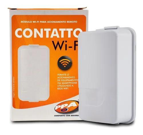 Contatto wifi ppa abre pelo celular portão alarme cerca