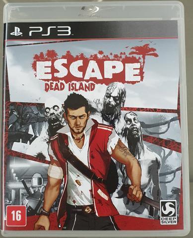 Escape dead island - ps3 - aceito trocas