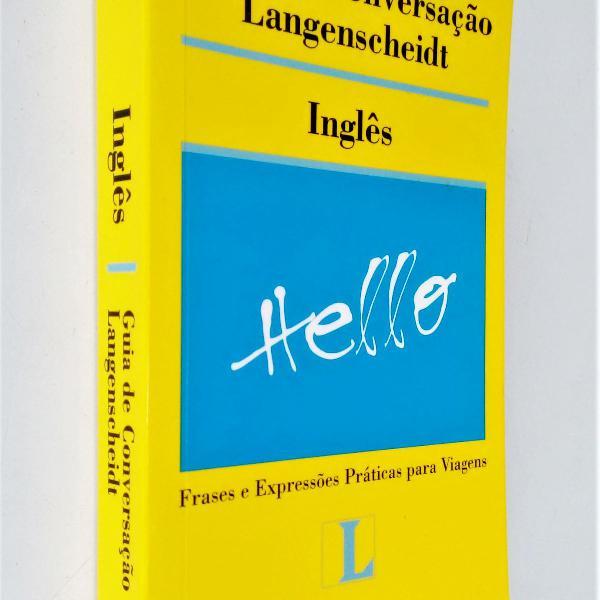 Guia de conversação langenscheidt inglês - editora