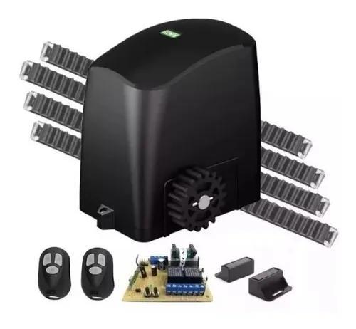 Kit completo motor portão eletrônico deslizante rcg 110