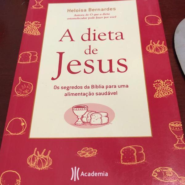 Livro a dieta de jesus.