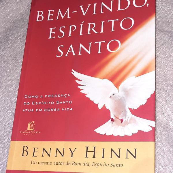 """Livro """"bem vindo espírito santo"""""""