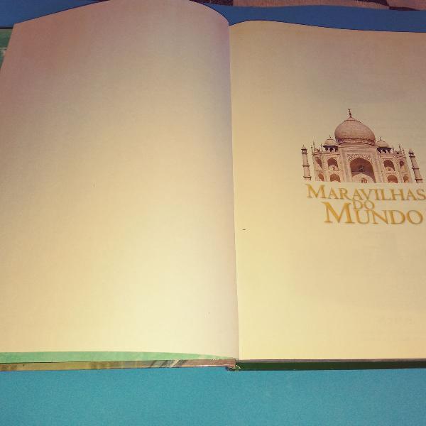 Livro maravilhas do mundo