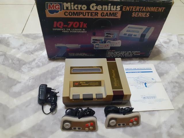 Micro genius iq-701k game em ótimo estado