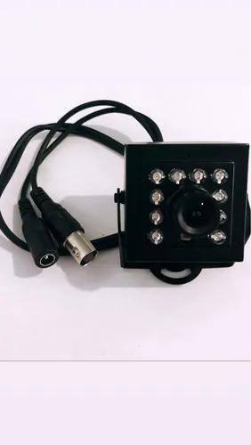 Mini câmera infra 10leds preta - sony 1/4 fvn