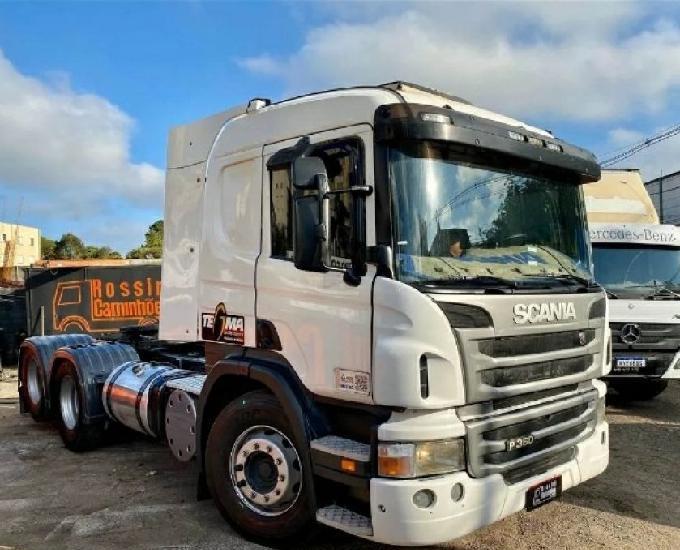 Scania p360 2012 cavalo trucado cegonheiro n 124 420 440 113