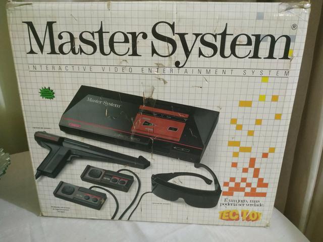 Vendo master system 1 tectoy