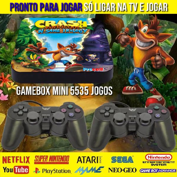 Video game retro gamebox mini