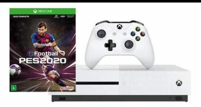 Xbox One S 1TB 1 Controle com 1 Jogo - Live Gold 1 Mês