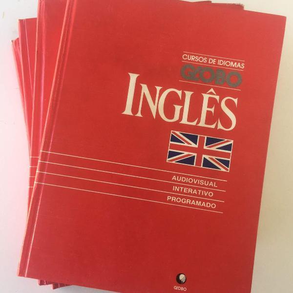Coleção curso de idiomas globo: inglês - 4 vols. (1991)