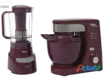 Kit Premium Wine Philco com Liquidificador Batedeira 110V