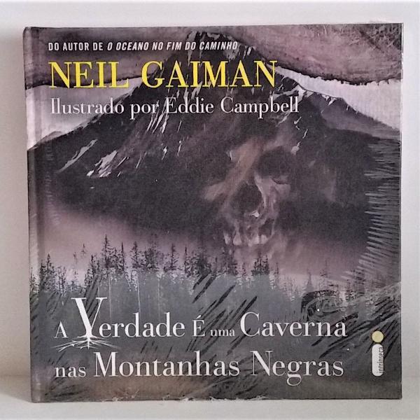 Livro a verdade é uma caverna nas montanhas negras neil