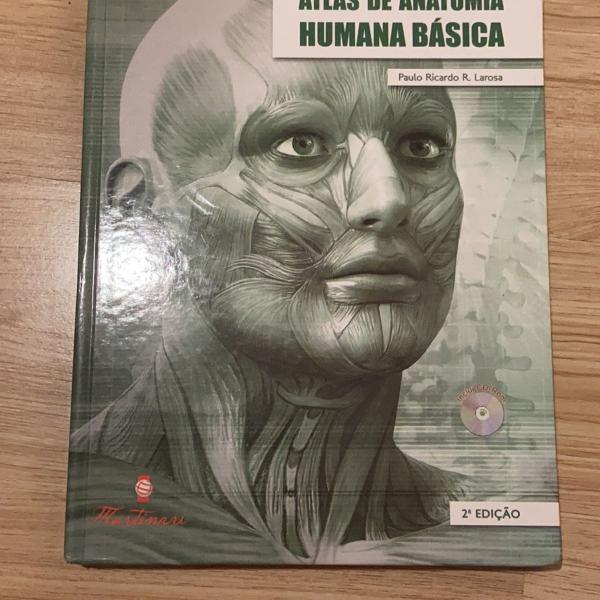 Livro atlas de anatomia humana básica