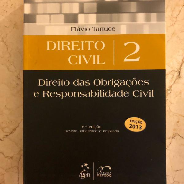 Livro direito civil flávio tartuce