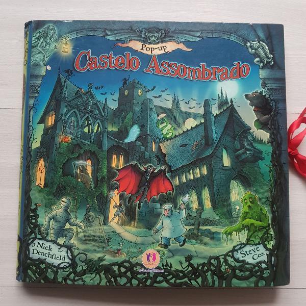 Livro - jogo castelo assombrado
